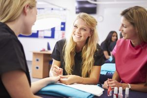 nail course offers